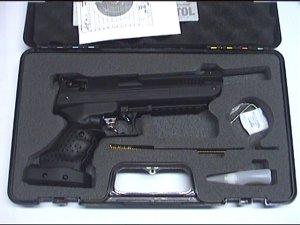 Die Luftpistole HP01 von Fa. Zoraki wird in so einem praktischen Transportkoffer geliefert.