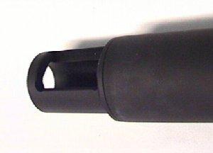 Weihrauch Schalldämpfer zum Anklemmen für Laufdurchmesser 15mm