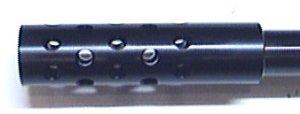 Dies ist ein Montagebeispiel vom Kompensator am CO2 Luftgewehr Hämmerli 850 AirMagnum