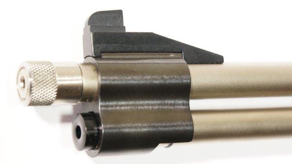 Edelstahl Rändelmutter für Luftgewehr 0.5 Zoll UNF