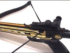 Armbrustpistole mit Knickmechanismus