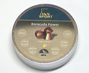 Baracuda Power, verkupferte Diabolos 4,5mm