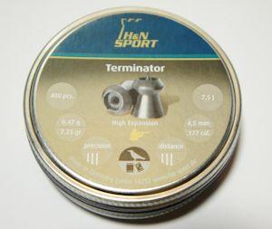 H&N Terminator 4,5mm für Luftdruckwaffen