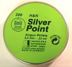 H&N Silver Point Diabolo 5,5mm