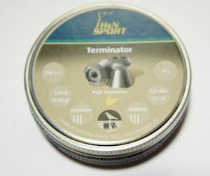H+N Terminator 5,5mm für Luftdruckwaffen