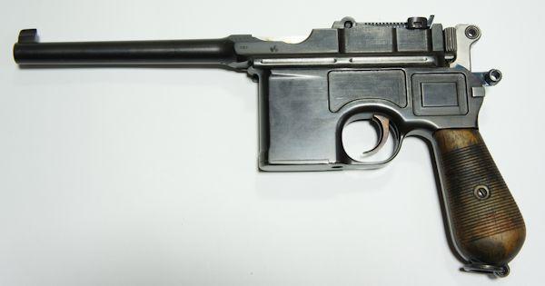 Dieses Bild zeigt eine originale C96 (ohne Reihenfeuer) zum Vergleich. Diese steht nicht zum Verkauf.