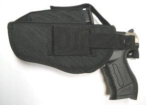 Holster mit Magazintasche für große Pistolen