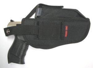 Anwendungsbeispiel  Gürtelholster für Pistolen / Pistolentasche