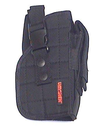 Das Holster kann auch vom Halter abgenommen und separat getragen werden.