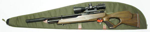 Gewehrtasche, für ein langes Gewehr mit Optik sehr geeignet
