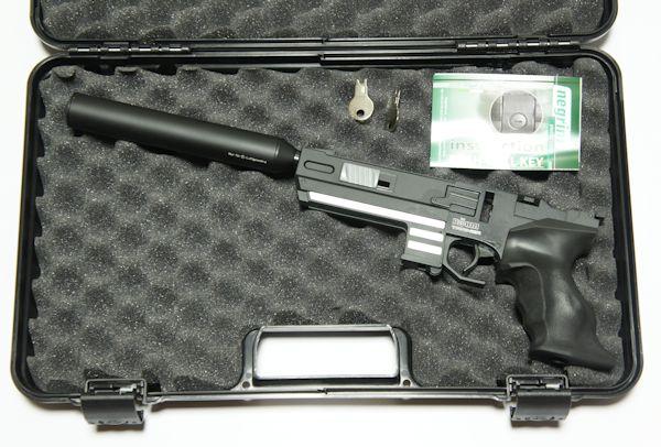 Anwendungsbeispiel Angebot gilt ohne Waffe und  Schalldämpfer