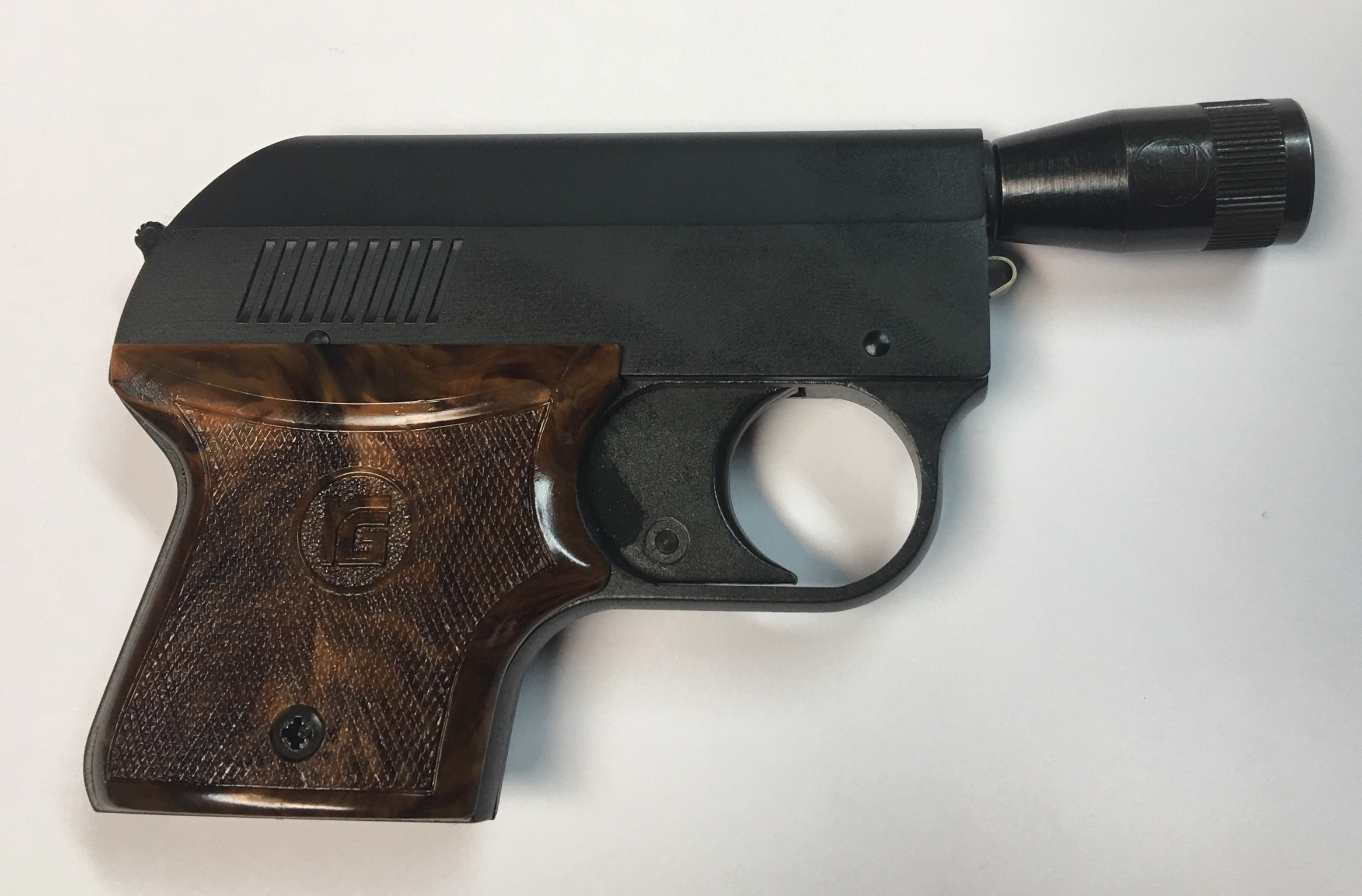 Signalpistole Rhöm RG3 von der rechten Seite