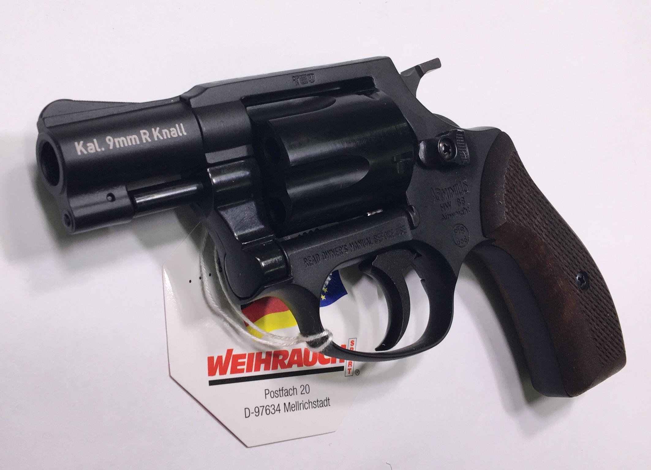 Der Arminius HW 88 ist sehr, sehr leicht und liegt angenehm in der Hand.