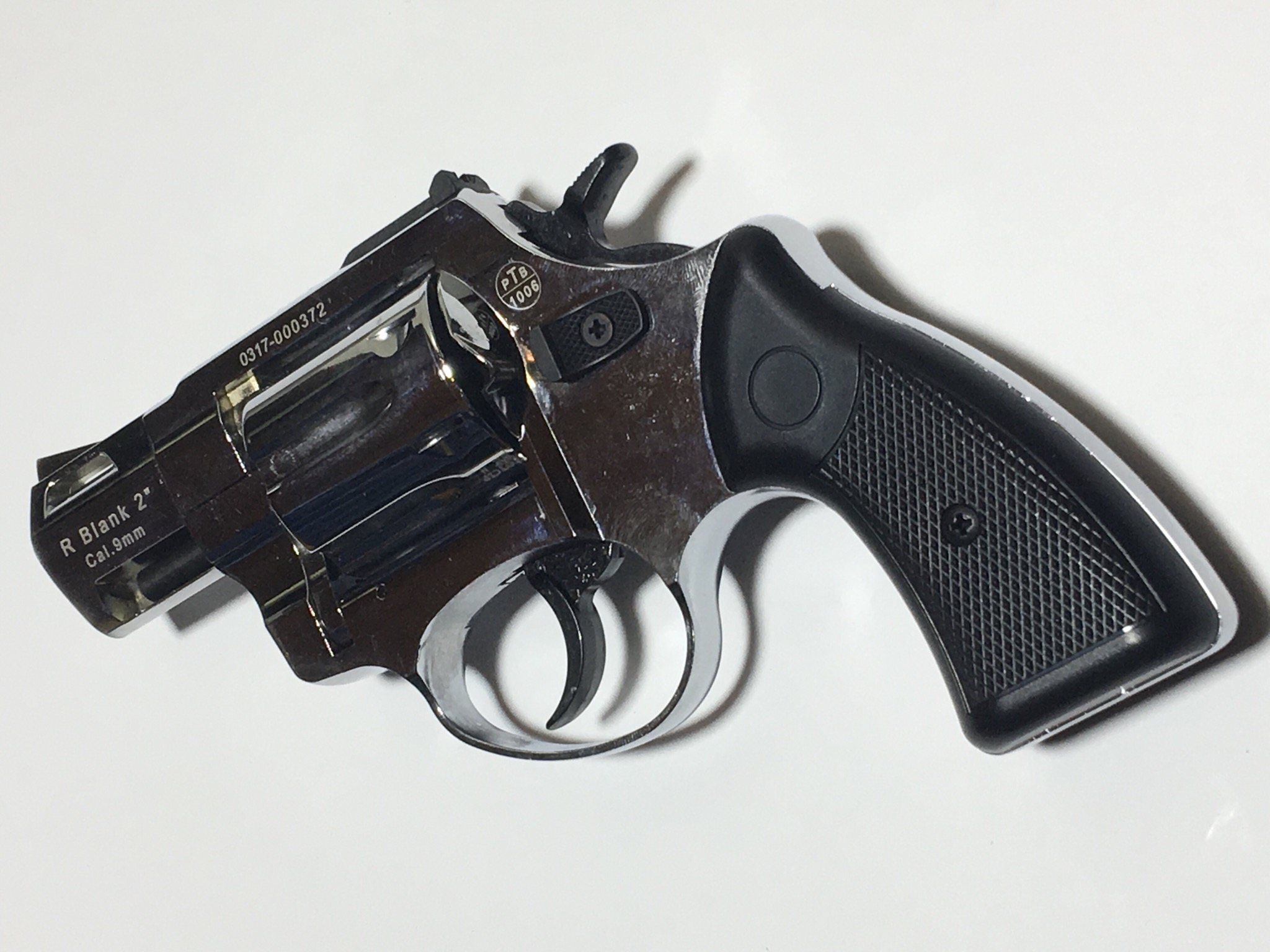 Zoraki R2 Gas und Signal Revolver chrom mit schwarzem Griff
