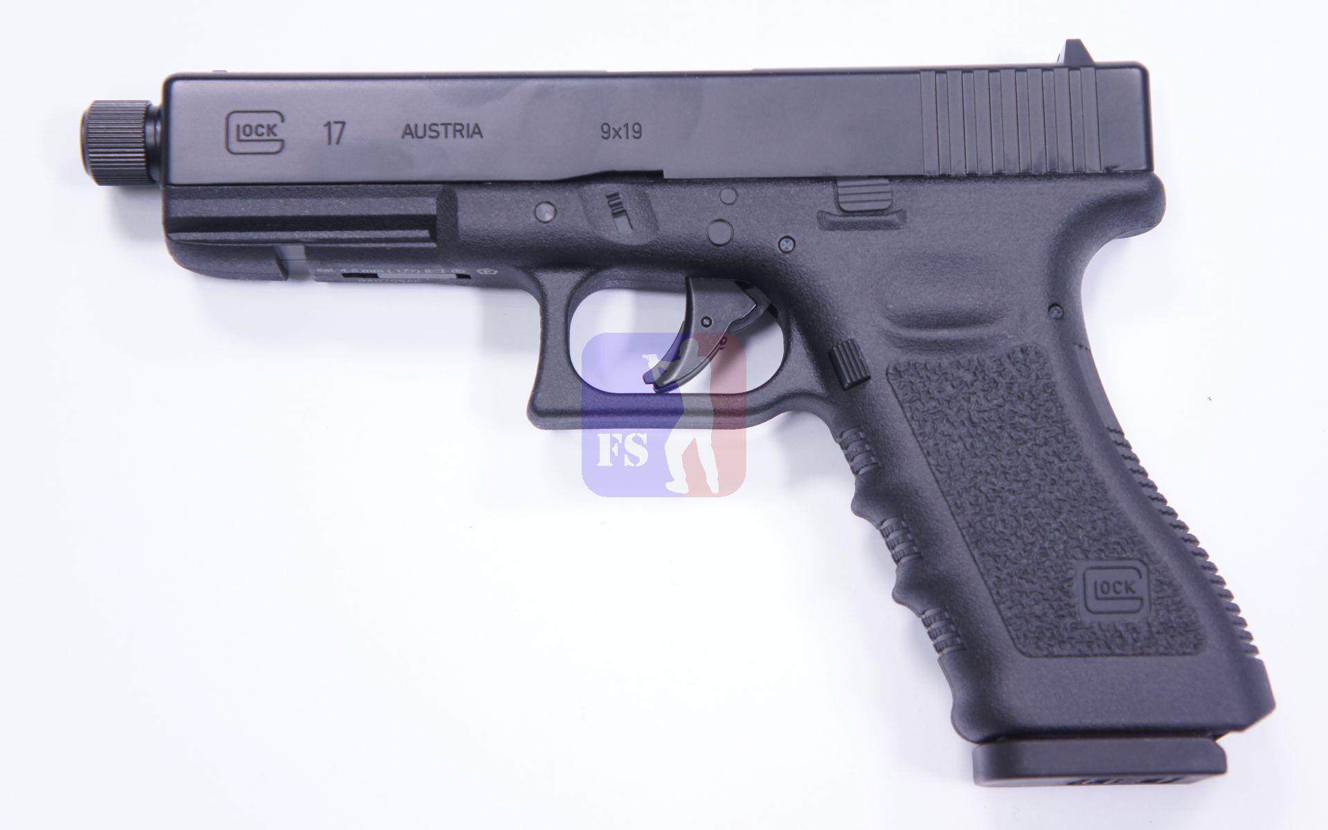 GLOCK 17 als CO2 Pistole Kaliber 4,5mm