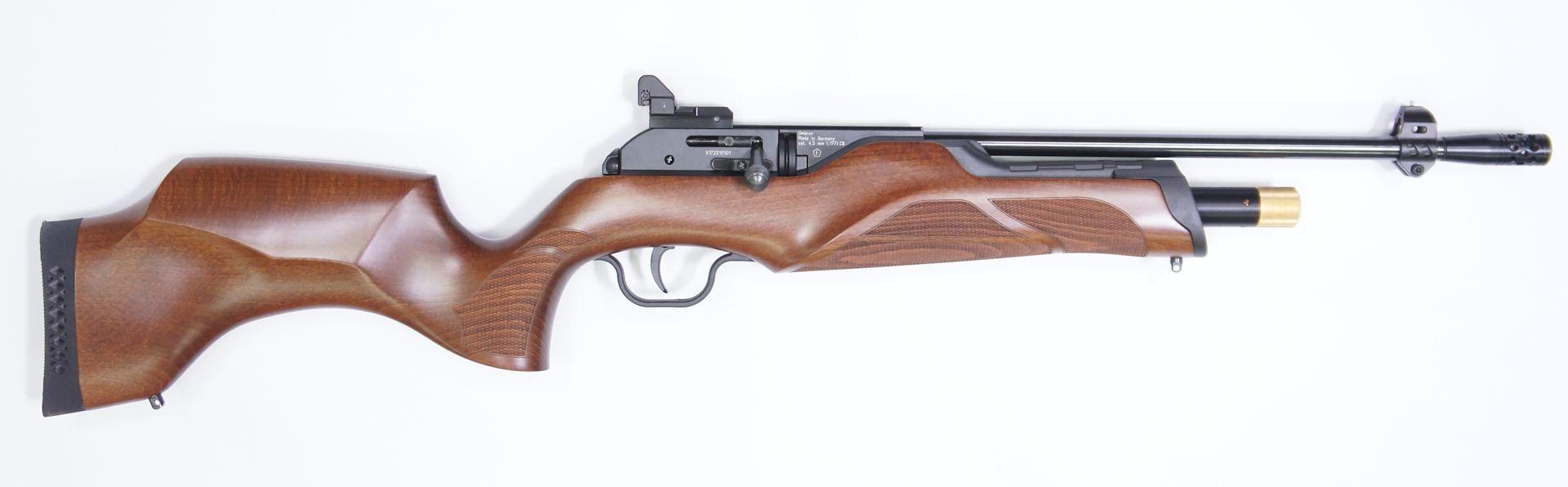Hier sehen Sie das Hämmerli 850 Carbine von der rechten Seite.