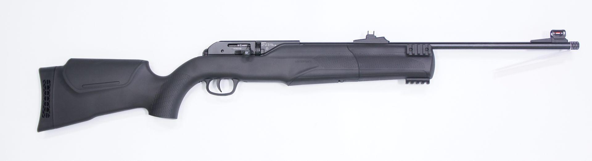 CO2-Luftgewehr Umarex 850 M2, •Waffenlänge: ca. 104 cm, mit vorgeschlagenem HW Schalldämpfer ca. 123 cm