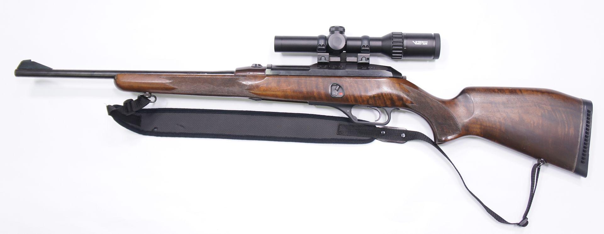 Montagebeispiel auf HK 770. Das Angebot gilt ohne Waffen und Montageteile