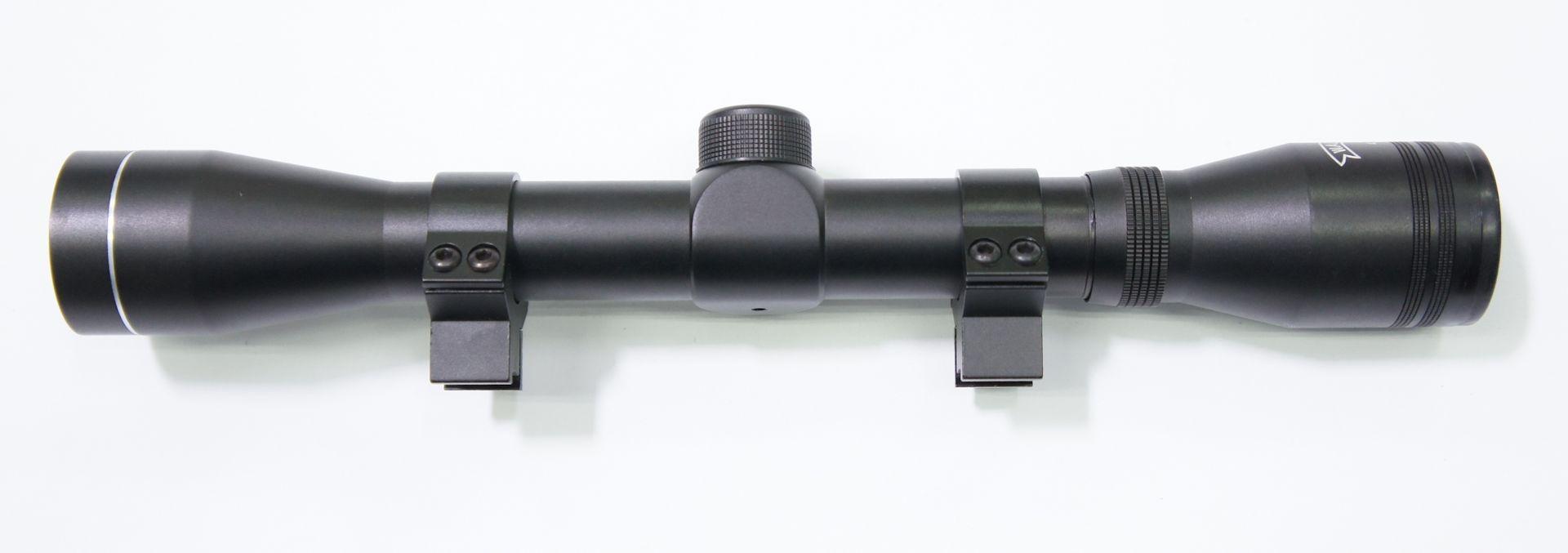 Walther Zielfernrohr 4x32 mit Montageringen
