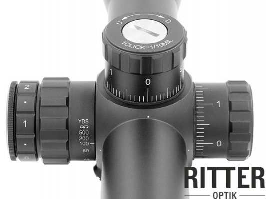 Ritter Zielfernrohr 3-15x50 SF-IR