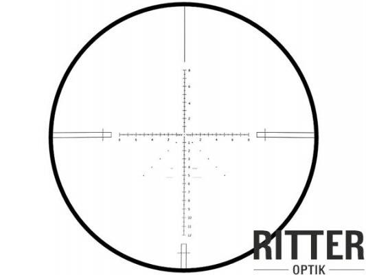 Das Absehen vom Ritter Zielfernrohr 3-15x50 SF-IR