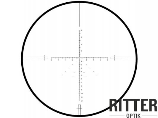 das Absehen vom Ritter Zielfernrohr 4-16x44 SF-IR