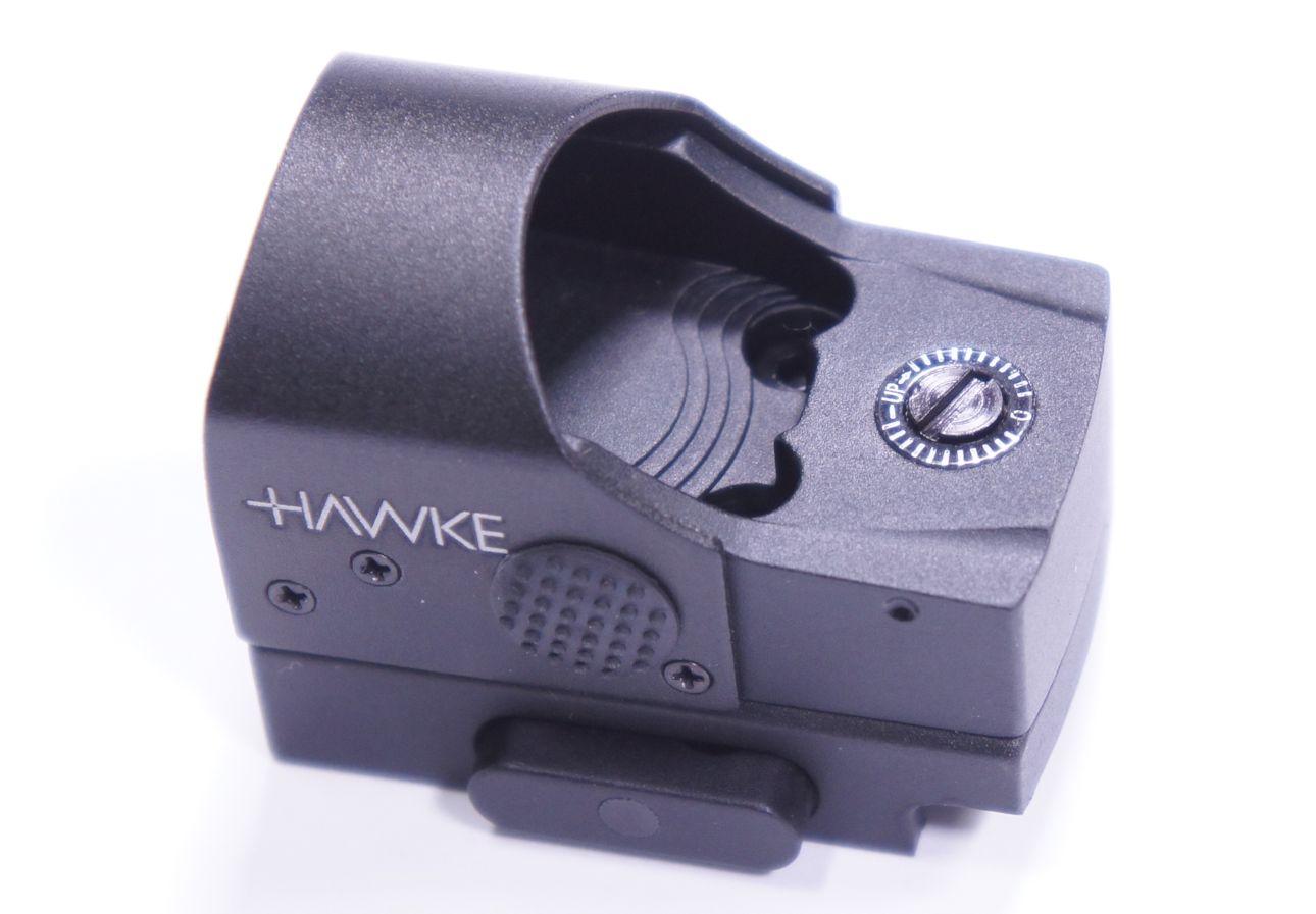 Für HW 45 Target angepasstes Hawke Reflexvisier 1x25, Weaver, 6 Helligkeitsstufen