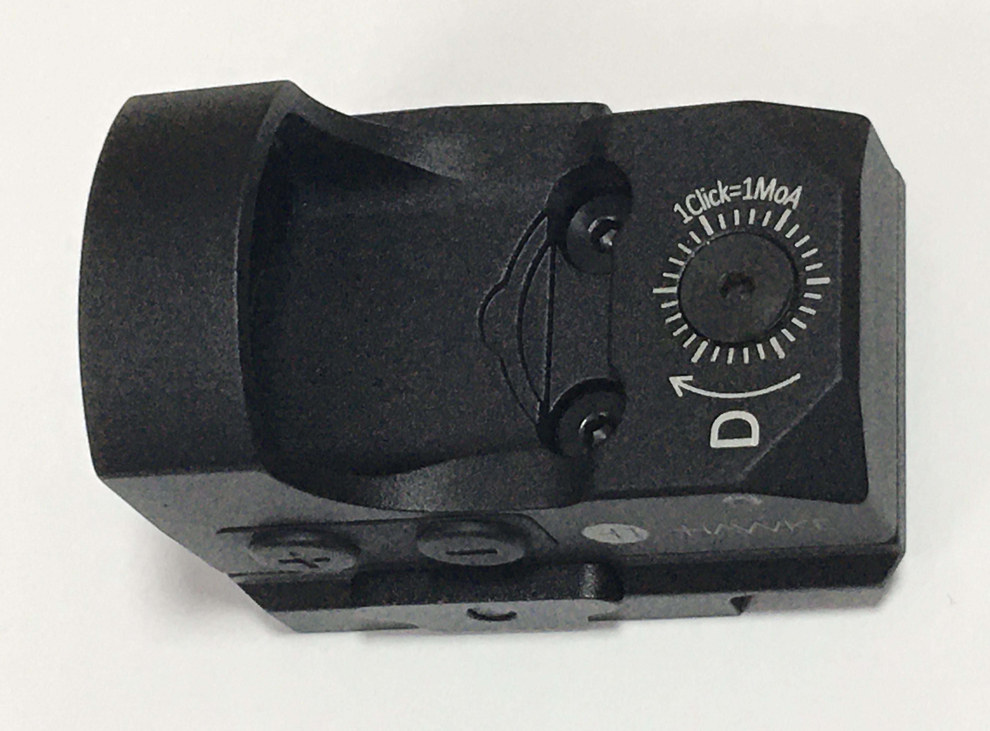 NEU Hawke Mikroreflexvisier 3 MOA  1x25 Weaver mit 7 Helligkeitsstufen angepasst für HW 45 Target und Trophy