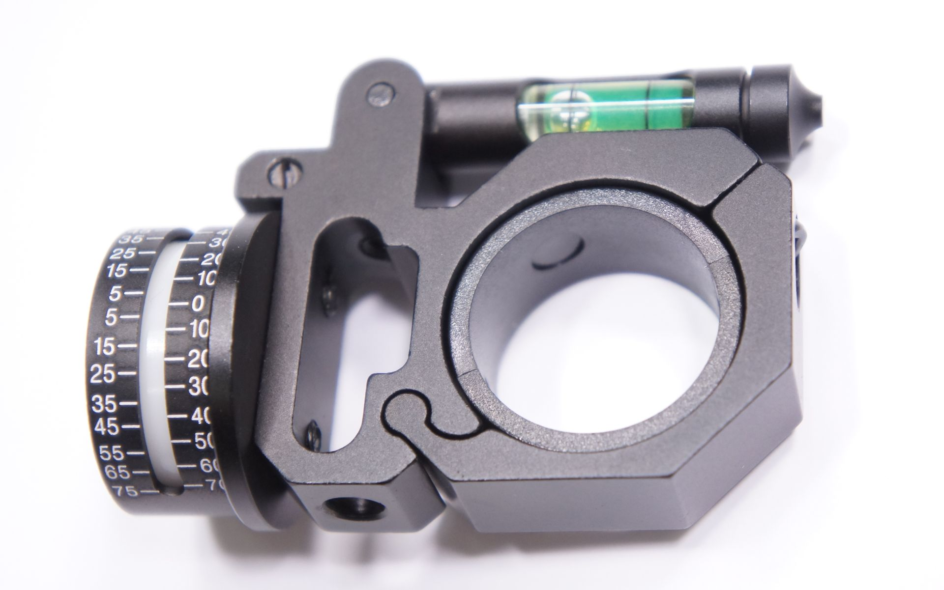 Schusswinkelanzeiger für Optiken mit Mittelrohr 30mm oder 25mm