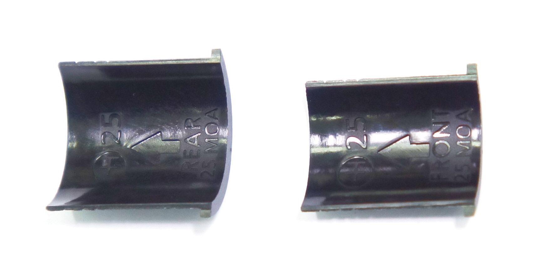 Montage Einlagen für 1 Zoll-Ringe für Neigung der Optik um ca. 25 Winkelminuten (25 MOA)