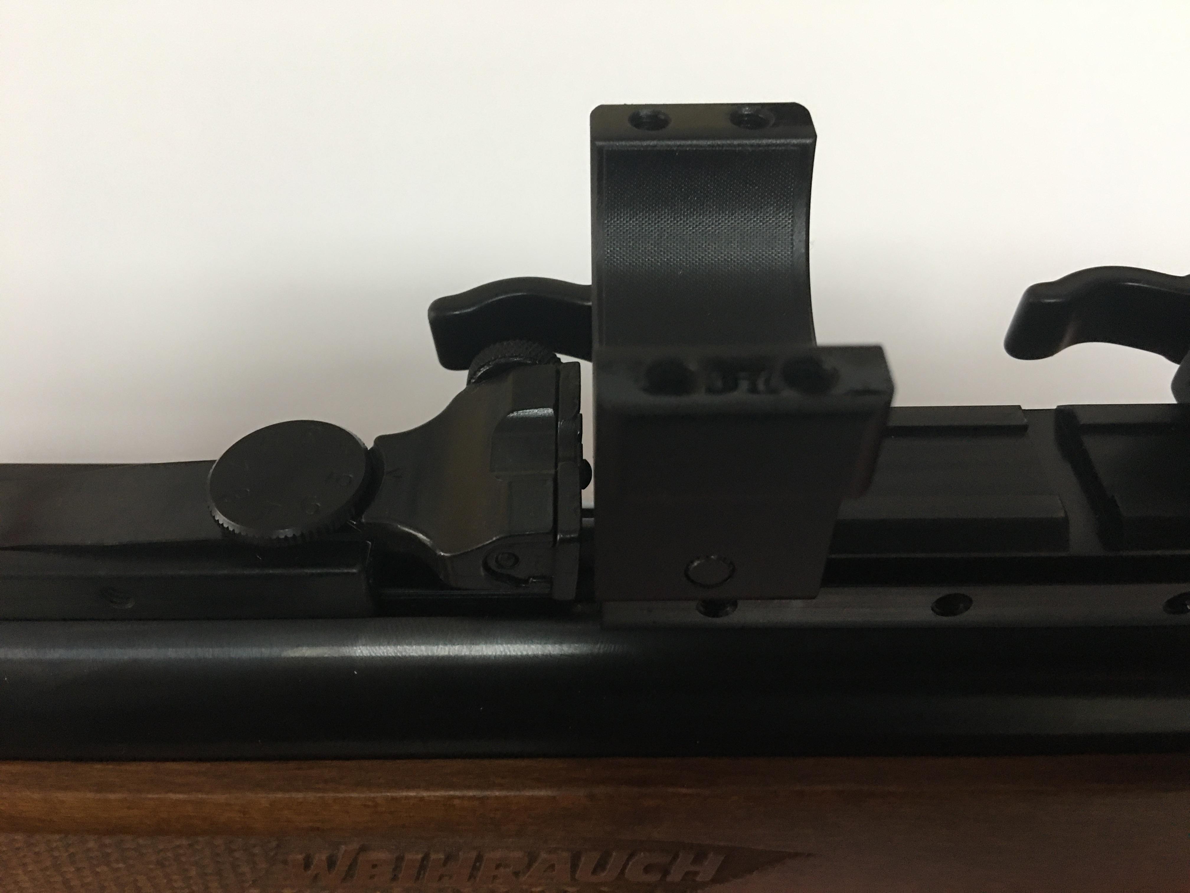 Präzisionsadapter von 11mm auf 21mm Weaver- Standard