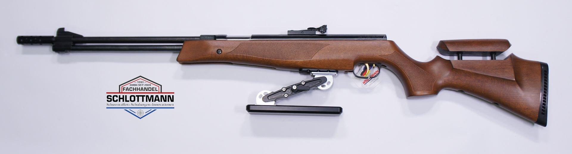 Montagebeispiel am Luftgewehr HW 77 K sd und mittes dieser UIT Schiene befestigtem <a href=1131630-K1.htm> Hamster </a>. Wer sich für eine UIT Schiene interesiert, sollte diesen <a href=1131630-K1.htm> Hamster </a>näher angeschaut haben. Der wurde von einem FT Schützen für Schützen entwickelt und hergestellt. Gegen Aufpreis können die Waffen so konfiguriert werden.