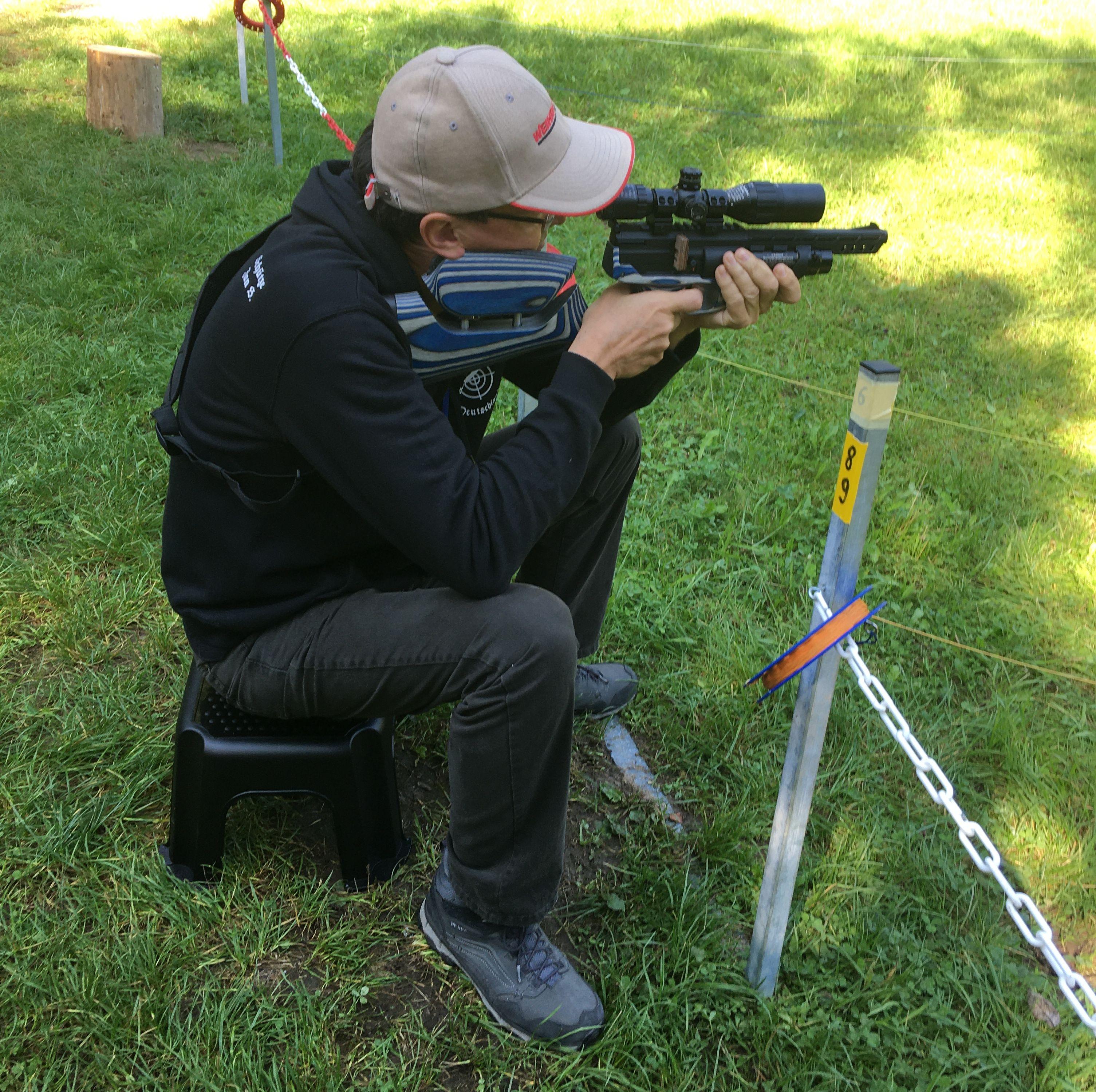 Luftpistole HW 44 im Kaliber 4,5mm / F