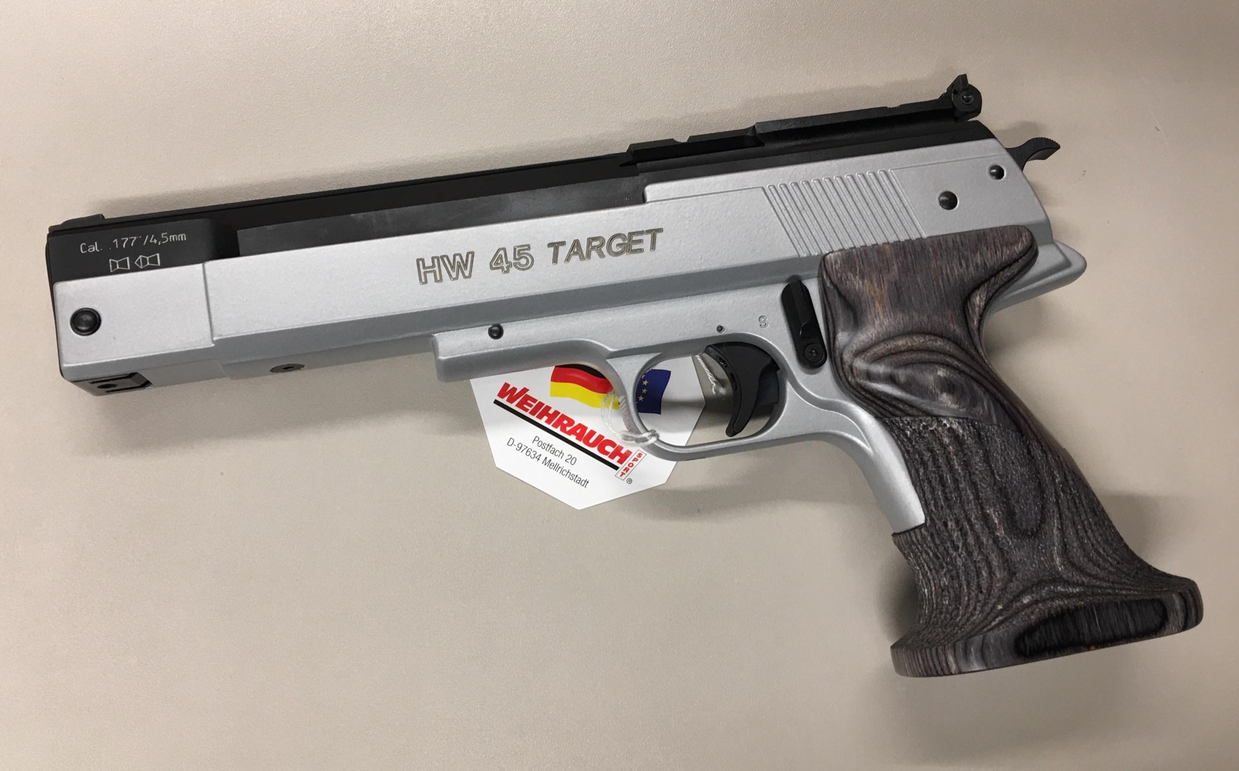 HW 45 Silver Star Target Kaliber 4,5mm