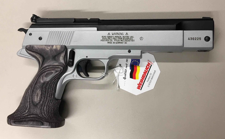 Nur hier wird Ihnen die HW 45 Target im Kaliber 4,5mm angeboten.