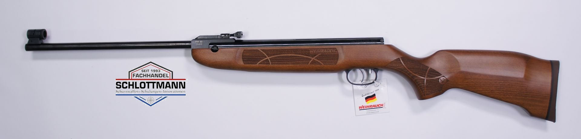 Weihrauch Luftgewehr HW 30 S im 4,5mm