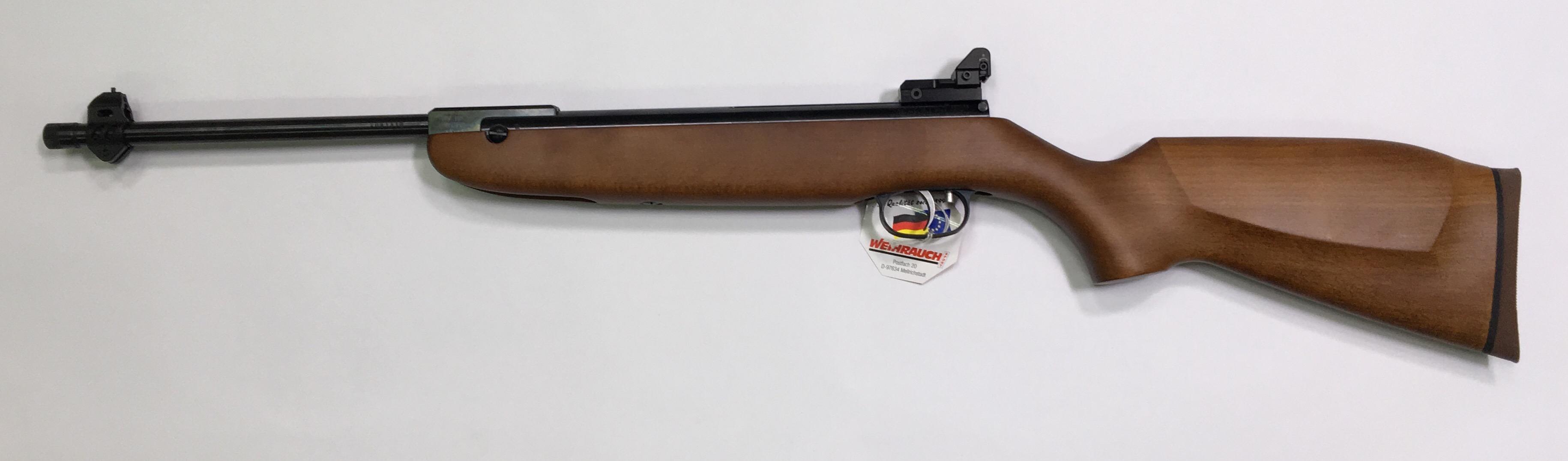 Für das Luftgewehr Modell 30 kann ich auch eine Versicherung mit Lochkimme anbieten.