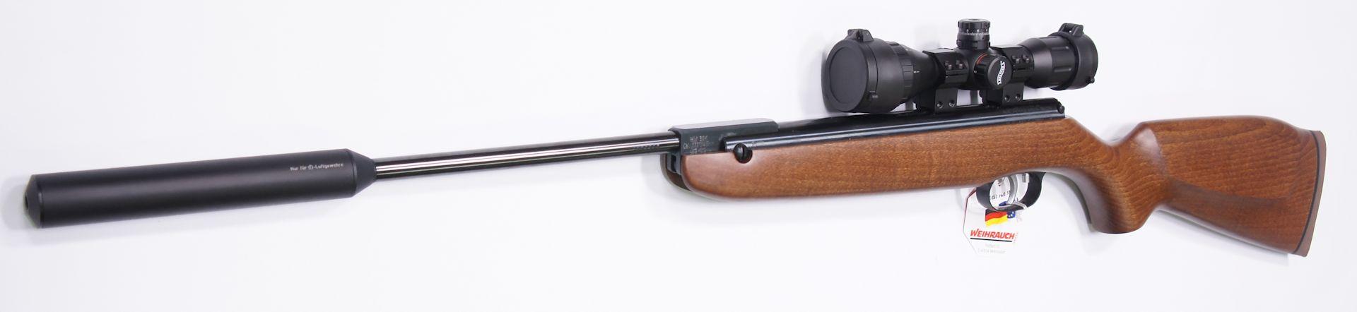 Luftgewehr Weihrauch HW 30S mit  Zielfernrohr Walther 4x32 MDC