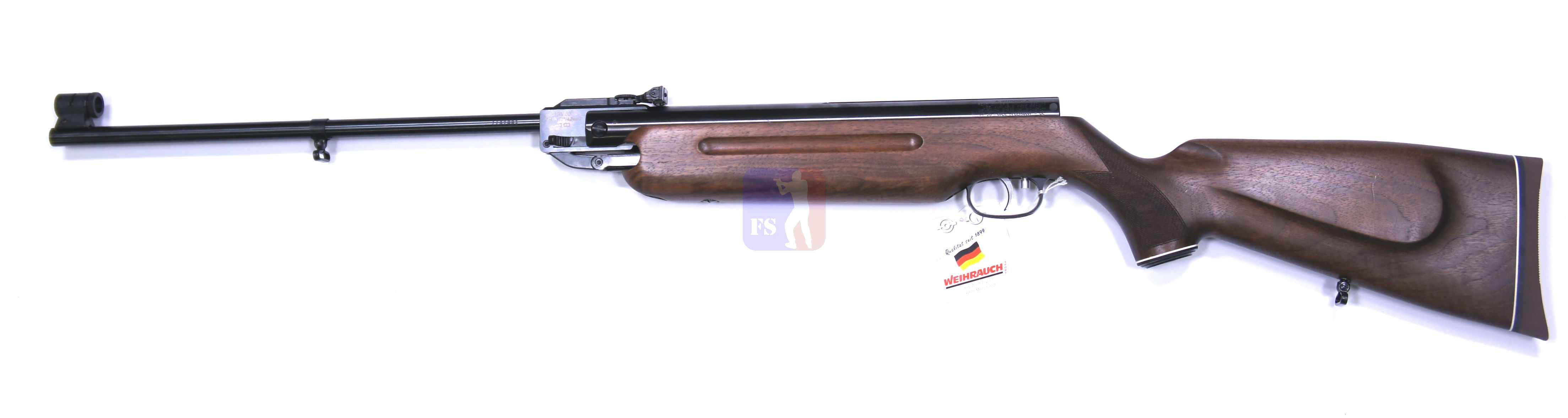 Luftgewehr HW 35 Export mit Nussbaumschaft und Riemenbügeln
