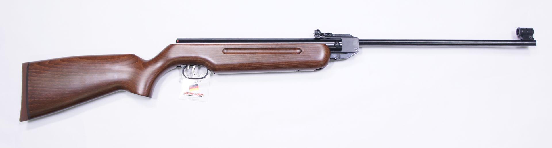 Das Luftgewehr Weihrauch HW 35 mach von allen Seiten einen wertigen und und überzeugenden Eindruck.