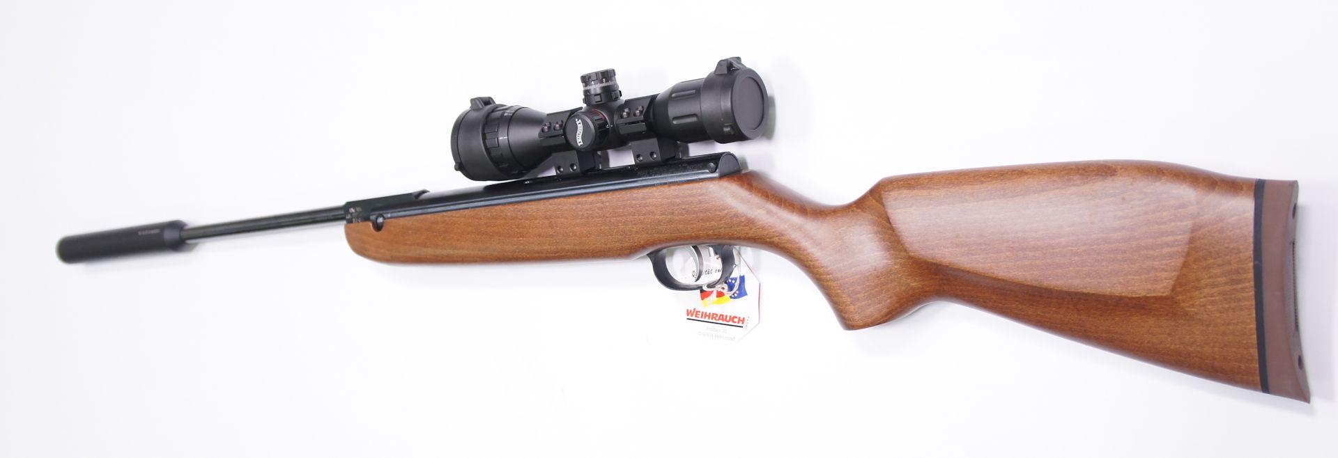 Diese sehr gute und robuste Optik der Marke Walther wäre zum HW 80 K eine hervorragende Ergänzung. Gerne können Sie <a href=1130130set77-45.htm>so eine Optik am Gewehr von mir montiert und eingeschossen</a> erhalten.