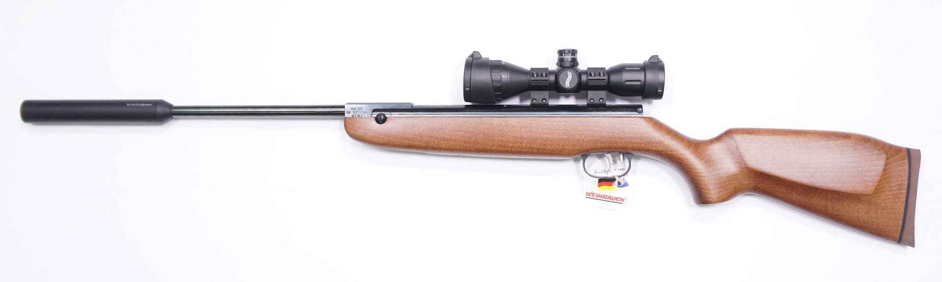 Diese sehr gute und robuste Optik der Marke Walther wäre zum HW 80 K eine hervorragende Ergänzung. Gerne können Sie <a href=1130130set77-55.htm>so eine Optik am Gewehr von mir montiert und eingeschossen</a> erhalten.