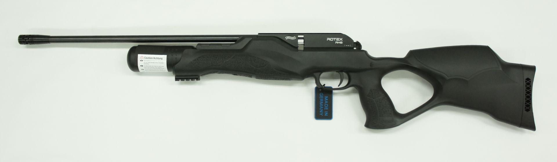 Walther Rotex RM8 varmint , Kunststoffschaft Kaliber  4,5mm