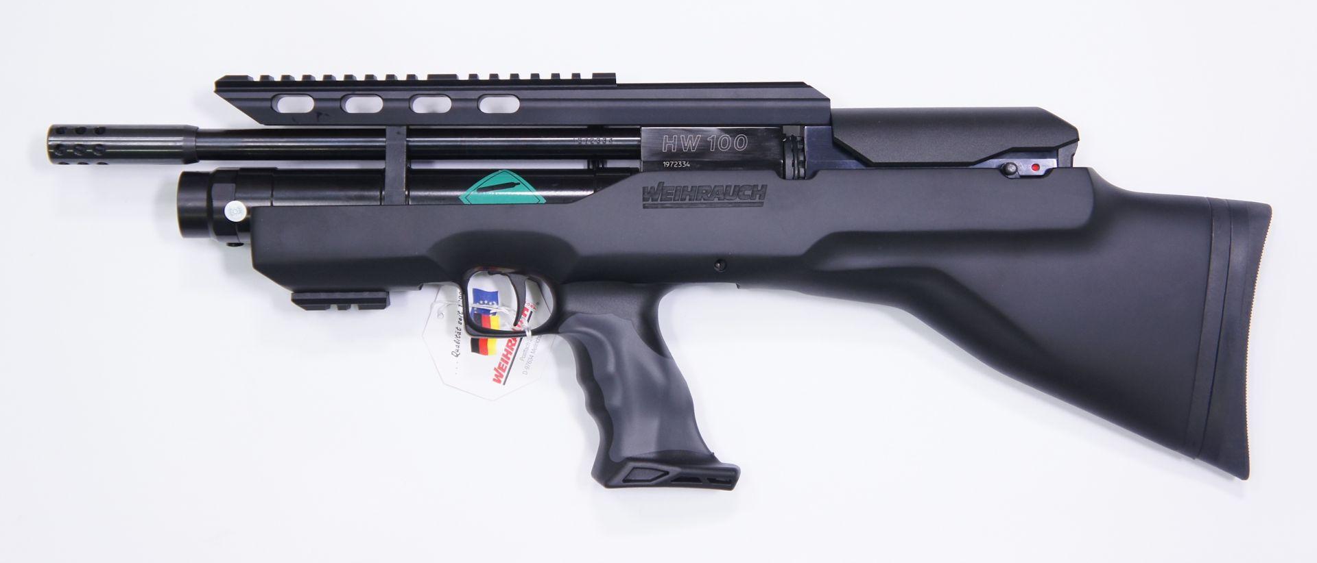 Luftgewehr Weihrauch HW 100 Bullpup-K, 31cm Lauf, 4,5mm, F