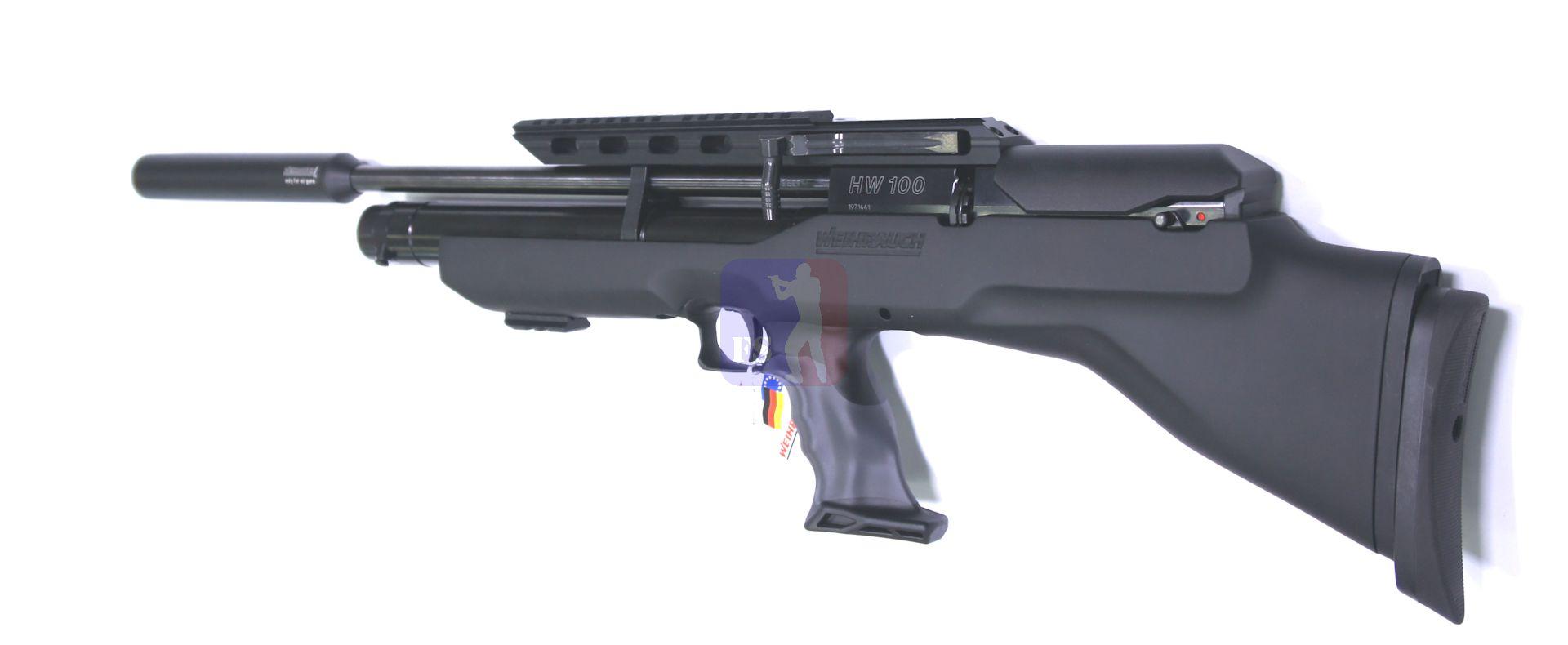 Luftgewehr Modell HW 100 BP mit 41 cm Lauf Kaliber 4,5mm
