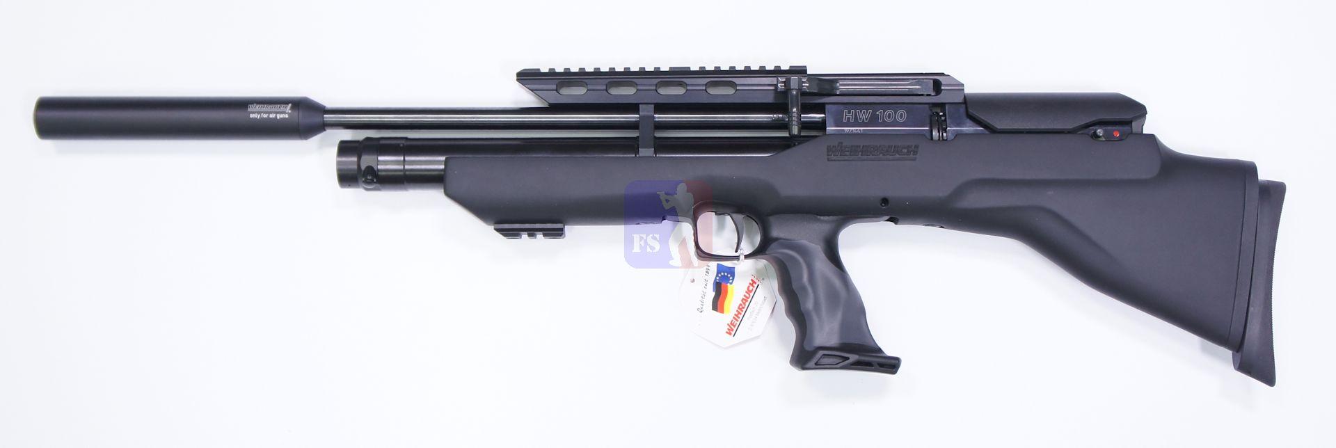 Luftgewehr Weihrauch HW 100 Bullpup, 41cm Lauf, 4,5mm, F