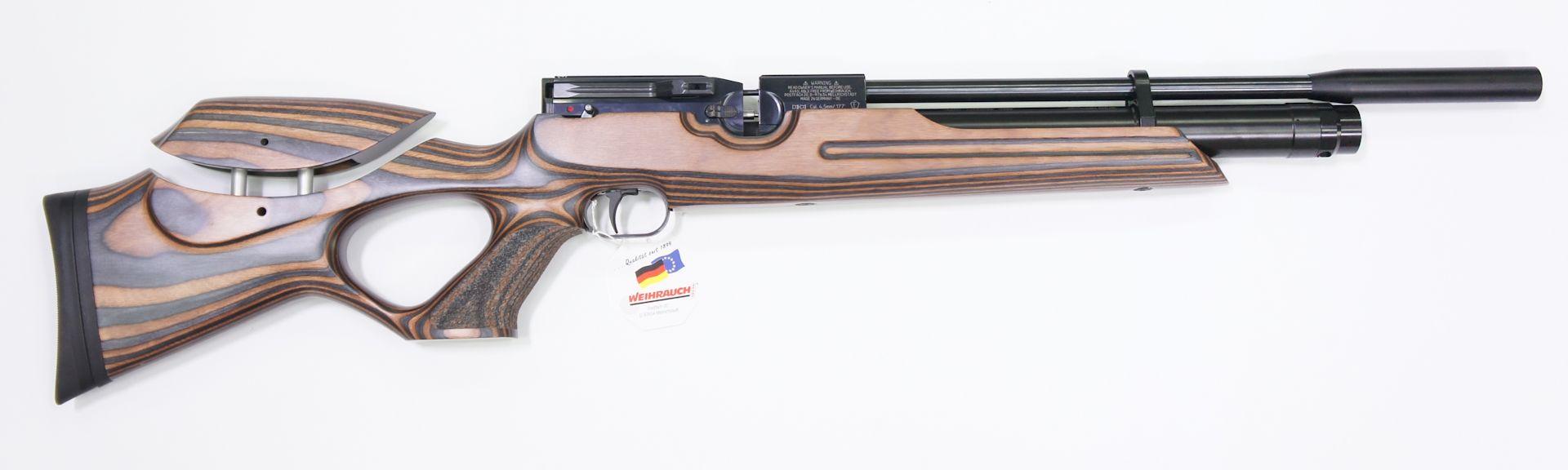 Luftgewehr Weihrauch Modell HW 100 T Special Edition von Rechts
