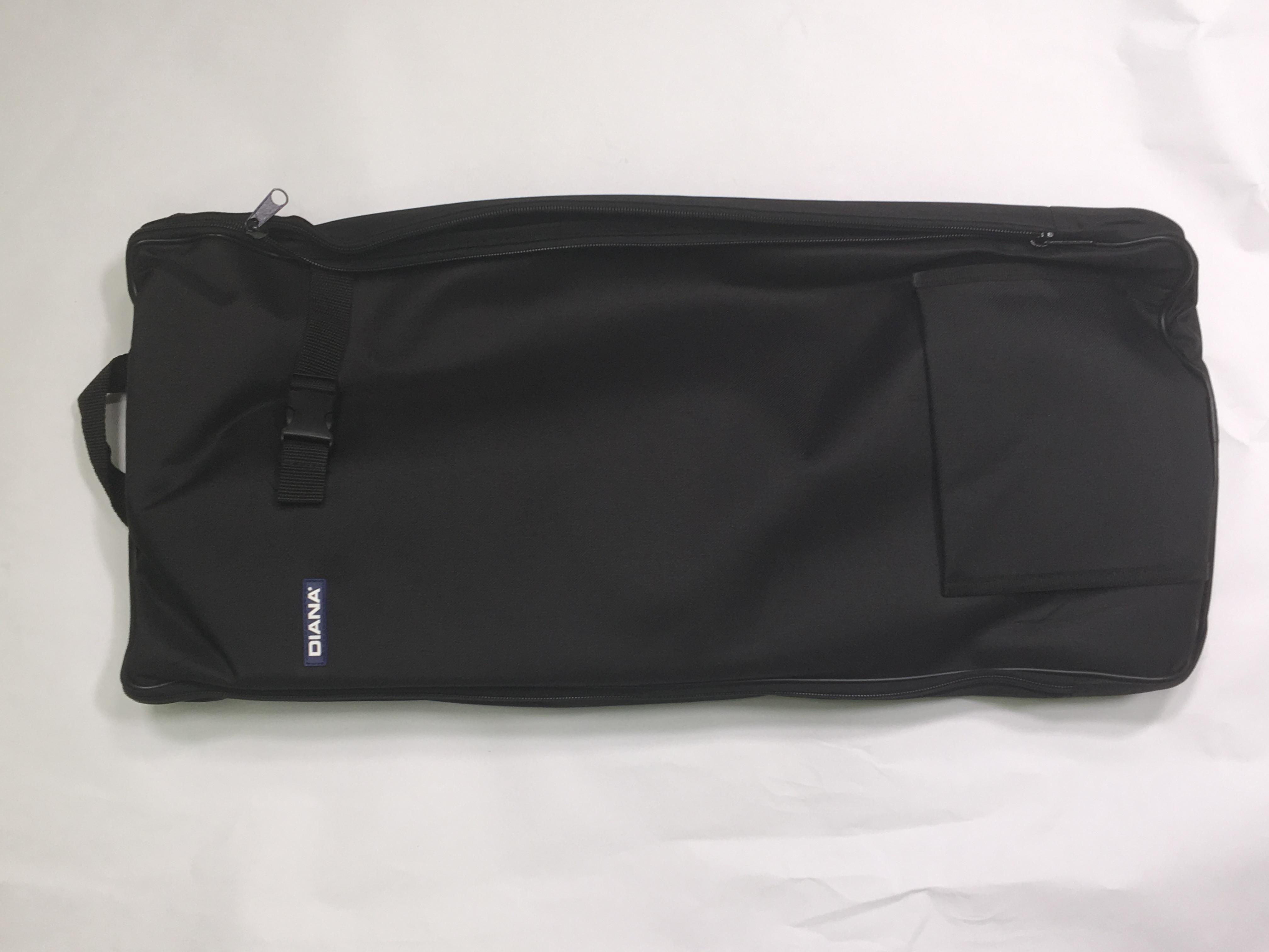 Die Tasche kann auch als Rucksack getragen werden.