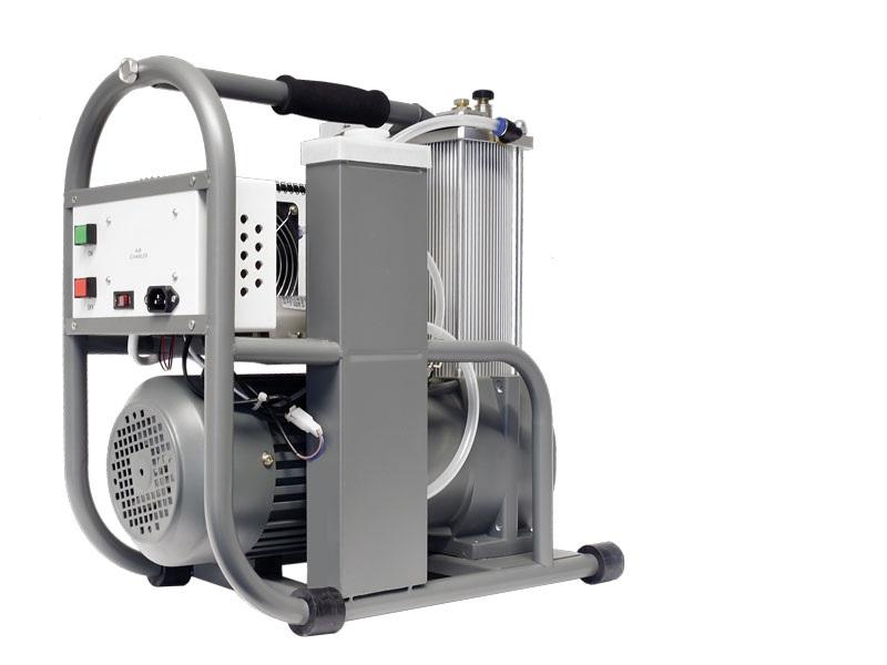 Schützenkompressor 300/200 bar Modell G-AC1 von Fa. Gehmann