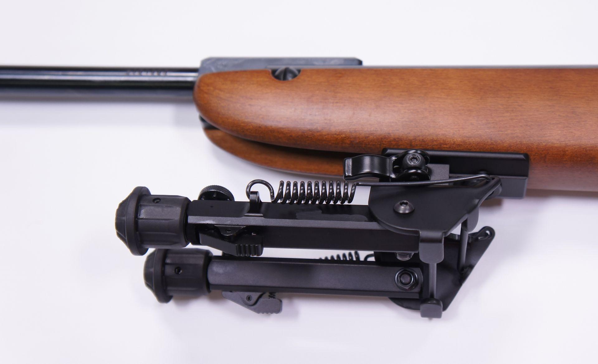 Und hier sehen Sie ein Montagebeispiel am Luftgewehr HW 30.
